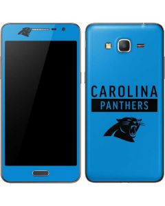 Carolina Panthers Blue Performance Series Galaxy Grand Prime Skin