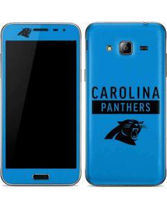 Carolina Panthers Blue Performance Series Galaxy J3 Skin