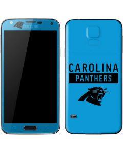 Carolina Panthers Blue Performance Series Galaxy S5 Skin