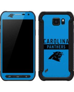 Carolina Panthers Blue Performance Series Galaxy S6 Active Skin