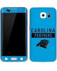 Carolina Panthers Blue Performance Series Galaxy S6 Edge Skin