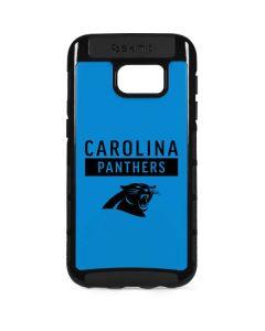 Carolina Panthers Blue Performance Series Galaxy S7 Edge Cargo Case