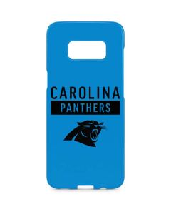 Carolina Panthers Blue Performance Series Galaxy S8 Plus Lite Case