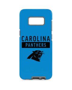 Carolina Panthers Blue Performance Series Galaxy S8 Pro Case