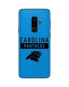Carolina Panthers Blue Performance Series Galaxy S9 Plus Skin