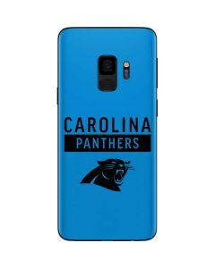 Carolina Panthers Blue Performance Series Galaxy S9 Skin