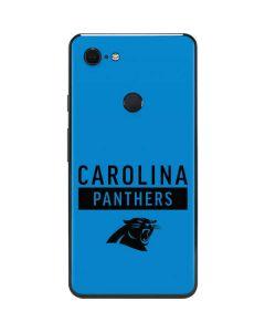 Carolina Panthers Blue Performance Series Google Pixel 3 XL Skin