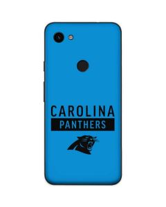 Carolina Panthers Blue Performance Series Google Pixel 3a Skin
