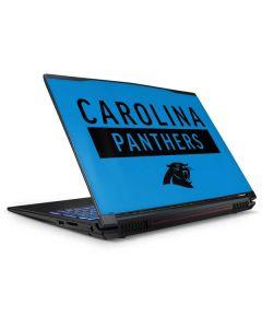Carolina Panthers Blue Performance Series GP62X Leopard Gaming Laptop Skin