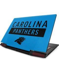Carolina Panthers Blue Performance Series Lenovo Ideapad Skin