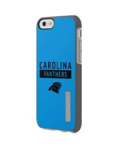 Carolina Panthers Blue Performance Series Incipio DualPro Shine iPhone 6 Skin