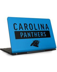 Carolina Panthers Blue Performance Series Dell Inspiron Skin