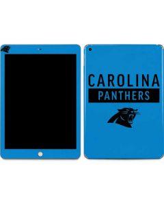 Carolina Panthers Blue Performance Series Apple iPad Skin