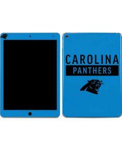 Carolina Panthers Blue Performance Series Apple iPad Air Skin