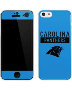 Carolina Panthers Blue Performance Series iPhone 5c Skin