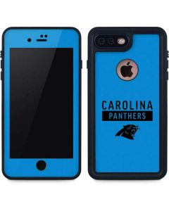 Carolina Panthers Blue Performance Series iPhone 8 Plus Waterproof Case