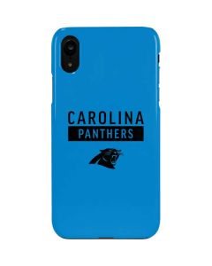 Carolina Panthers Blue Performance Series iPhone XR Lite Case