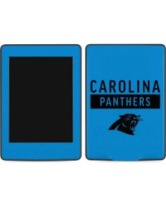 Carolina Panthers Blue Performance Series Amazon Kindle Skin