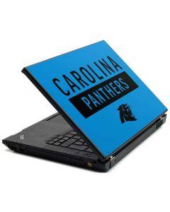 Carolina Panthers Blue Performance Series Lenovo T420 Skin