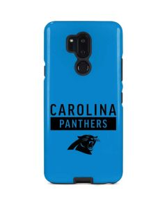 Carolina Panthers Blue Performance Series LG G7 ThinQ Pro Case