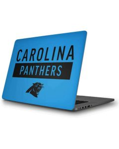 Carolina Panthers Blue Performance Series Apple MacBook Pro Skin