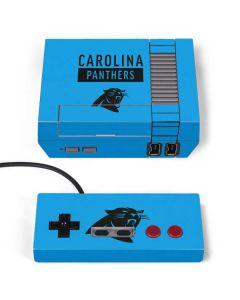 Carolina Panthers Blue Performance Series NES Classic Edition Skin