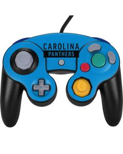 Carolina Panthers Blue Performance Series Nintendo GameCube Controller Skin