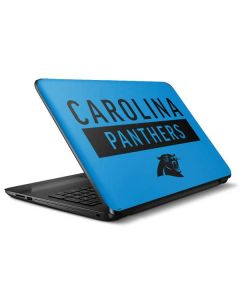 Carolina Panthers Blue Performance Series HP Notebook Skin