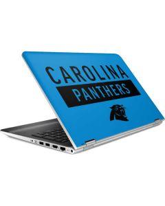 Carolina Panthers Blue Performance Series HP Pavilion Skin