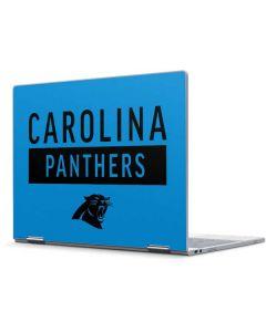 Carolina Panthers Blue Performance Series Pixelbook Skin