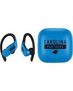 Carolina Panthers Blue Performance Series PowerBeats Pro Skin