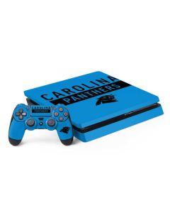 Carolina Panthers Blue Performance Series PS4 Slim Bundle Skin