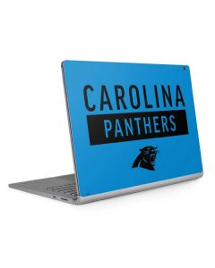 Carolina Panthers Blue Performance Series Surface Book 2 15in Skin