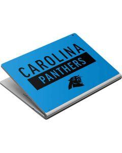 Carolina Panthers Blue Performance Series Surface Book Skin