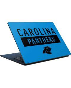 Carolina Panthers Blue Performance Series Surface Laptop Skin