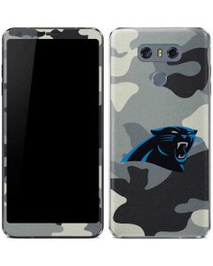 Carolina Panthers Camo LG G6 Skin