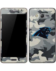Carolina Panthers Camo Galaxy Grand Prime Skin