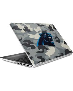 Carolina Panthers Camo HP Pavilion Skin