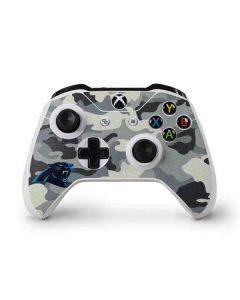 Carolina Panthers Camo Xbox One S Controller Skin
