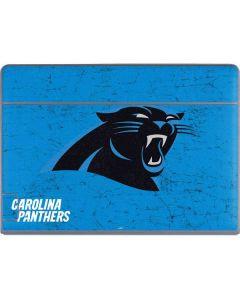 Carolina Panthers Distressed Alternate Galaxy Book Keyboard Folio 12in Skin