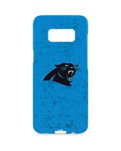 Carolina Panthers Distressed Alternate Galaxy S8 Plus Lite Case