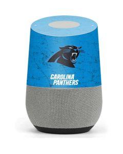 Carolina Panthers Distressed Alternate Google Home Skin