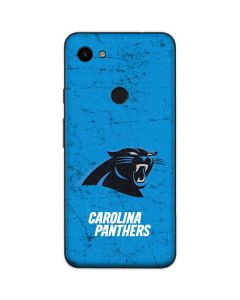 Carolina Panthers Distressed Alternate Google Pixel 3a Skin