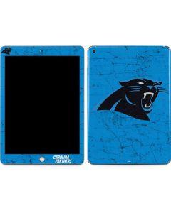 Carolina Panthers Distressed Alternate Apple iPad Skin