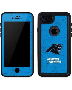 Carolina Panthers Distressed Alternate iPhone 8 Waterproof Case