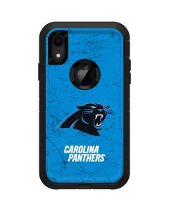 Carolina Panthers Distressed Alternate Otterbox Defender iPhone Skin