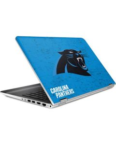 Carolina Panthers Distressed Alternate HP Pavilion Skin