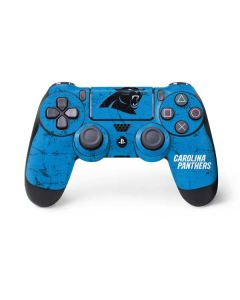 Carolina Panthers Distressed Alternate PS4 Controller Skin