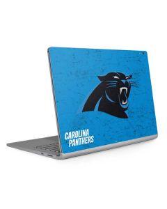 Carolina Panthers Distressed Alternate Surface Book 2 13.5in Skin