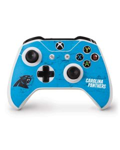 Carolina Panthers Distressed Alternate Xbox One S Controller Skin
